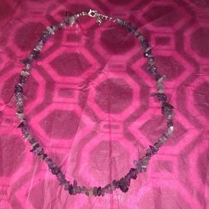 Jewelry - Rough Amethyst Necklace